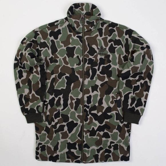 adidas camo jacket donna